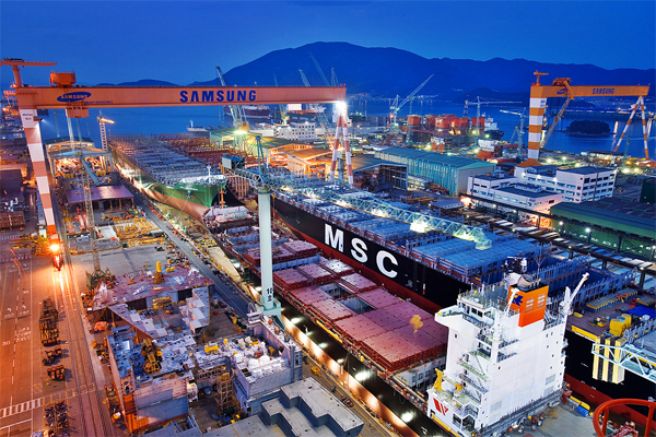 Optimising power quality at one of the largest and most advanced shipyards in the world.